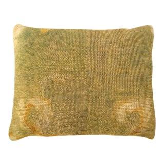 Antique European Savonnerie Pillow For Sale