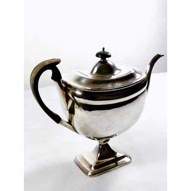 English 1820-1830 Sheffield Plate George IV Coffee Pot For Sale - Image 3 of 10