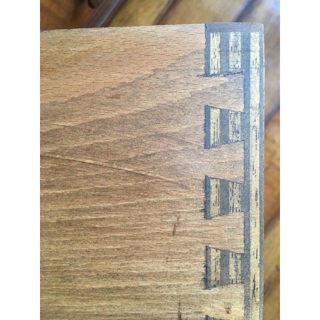 Wood Antique British Colonial Davenport/Captain's Desk For Sale - Image 7 of 10