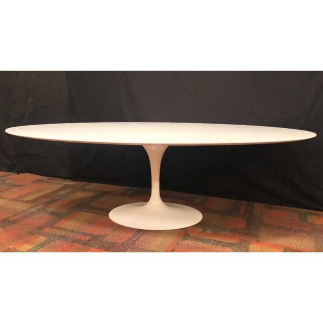 """With the Pedestal Collection, Eero Saarinen resolved the """"ugly, confusing, unrestful world"""" underneath tables and chairs...."""