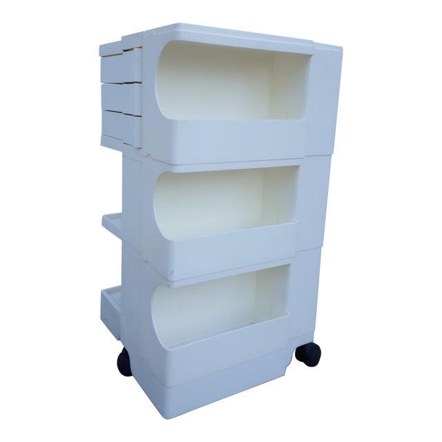 joe colombo plastic rolling utility cart - Rolling Utility Cart