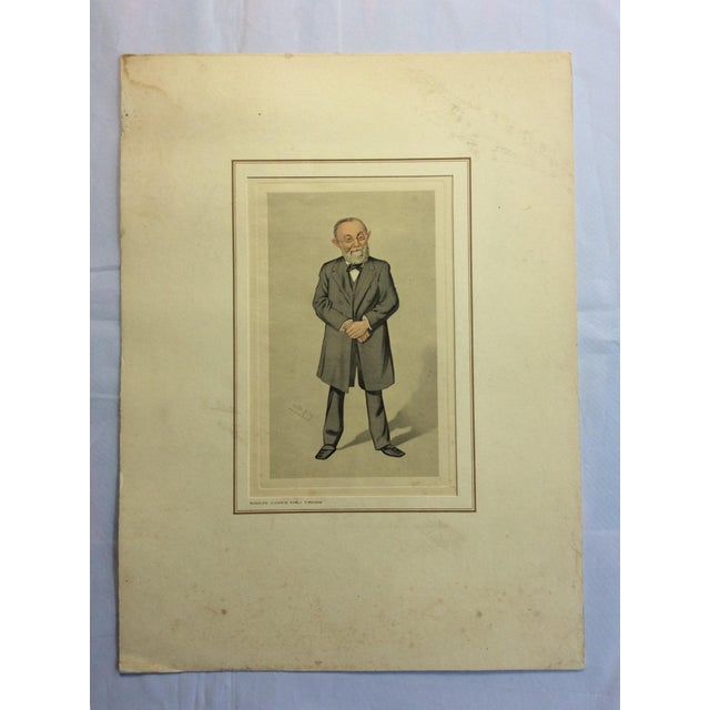 White Vanity Fair Prints of Scientists for Petrolagar Laboratories - Set of 7 For Sale - Image 8 of 10