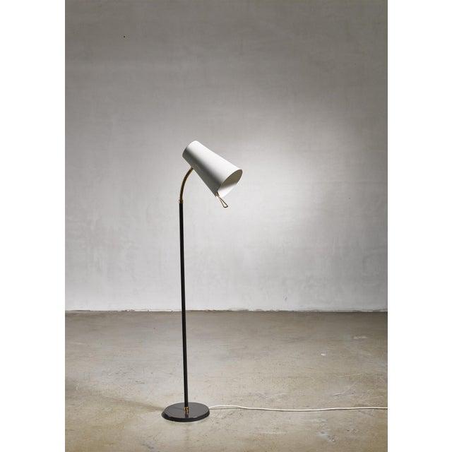 Stockmann Orno Yki Nummi Floor Lamp for Orno, Finland For Sale - Image 4 of 8