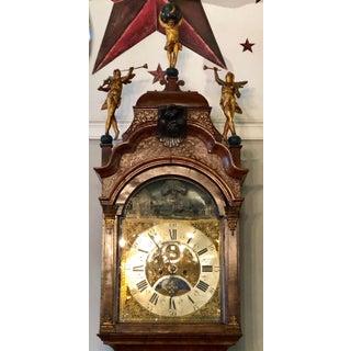 18th Century Dutch Tallcase Clock Animation Moon Phase Calendar Christoffel Abke Preview