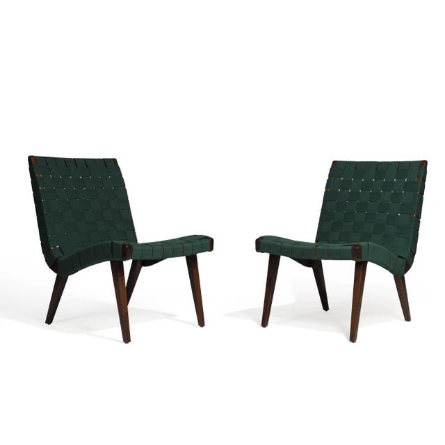 Early 21st Century Jens Risom for Knoll Studio Lounge Chairs For Sale - Image 5 of 11