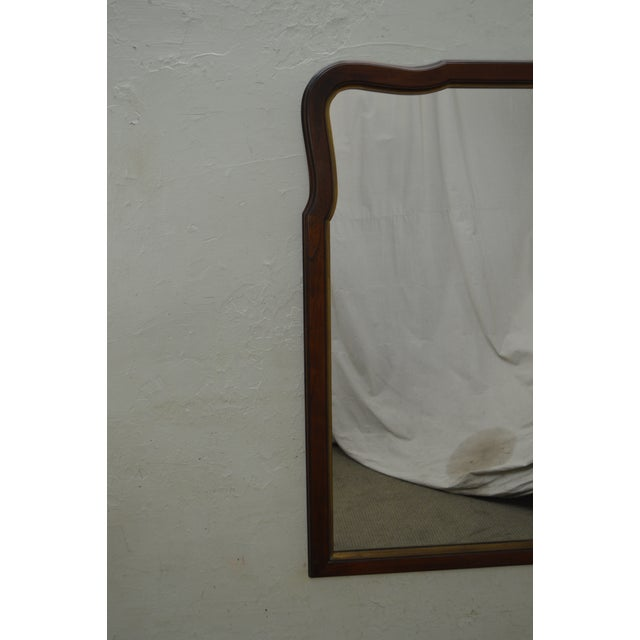 Brown Statton Old Towne Cherry Traditional Wall Mirror For Sale - Image 8 of 10