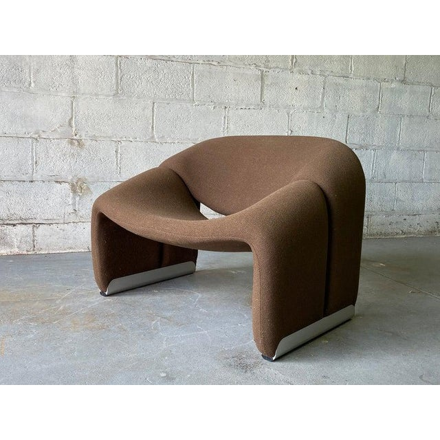 "Mid Century Modern ""Groovy"" Armchair by Pierre Paulin for Artifort, Holland For Sale - Image 9 of 11"