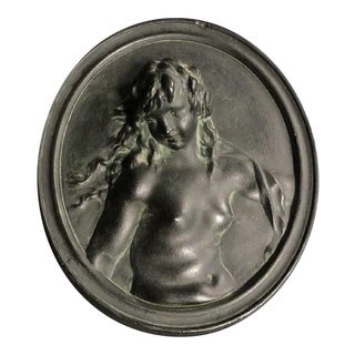 Neoclassical Style Plaster Plaque For Sale