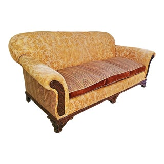 Antique American Sofa For Sale