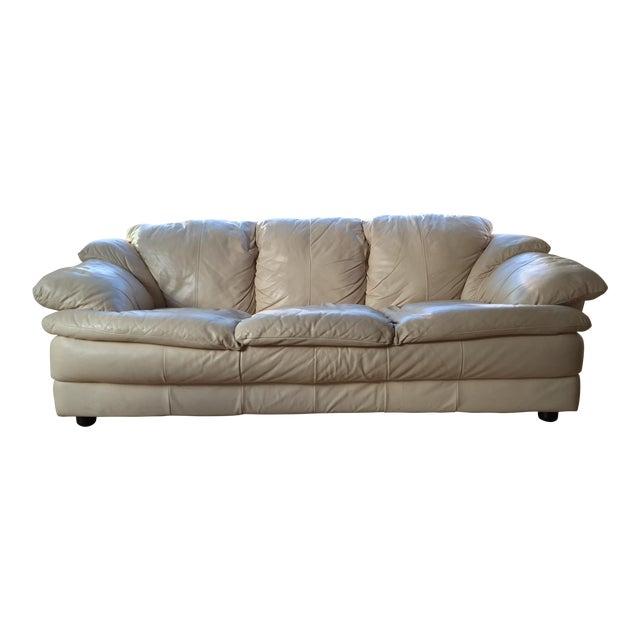 Natuzzi Italian Leather Sofa - Image 1 of 11