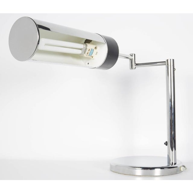 Mid-Century Modern Swing Arm Desk Lamp by Nessen Studios For Sale In New York - Image 6 of 10