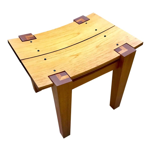 Rob Edley Welborn Designed Prototype Bench or Stool For Sale