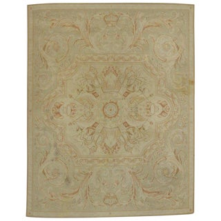 20th Century French Provincial Style Area Rug - 7′11″ × 10′2″ For Sale