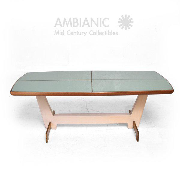 Modern Custom Coffee Table After Gio Ponti For Sale - Image 3 of 6
