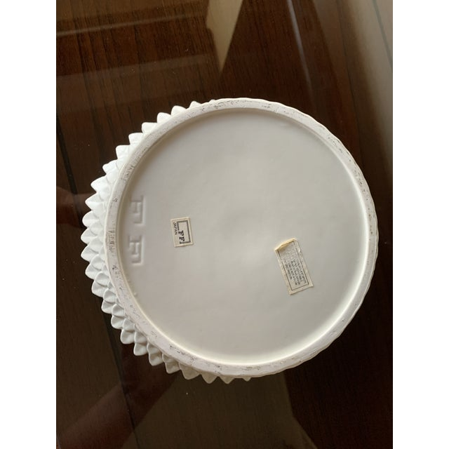 Fitz and Floyd Layered Leaf Dish For Sale - Image 10 of 12