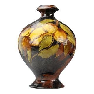 Weller Aurelian Vase Apple Tree, Signed C. Dibowski For Sale