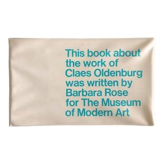 "1969 Claes Oldenburg ""Soft Sculpture"" Exhibition Catalog"