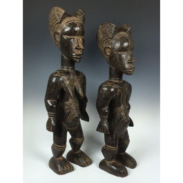 Ivory Coast African Dan Statues - A Par - Image 11 of 11