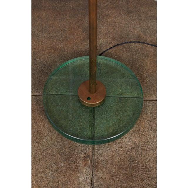 Italian Freeform Tulip Shade Floor Lamp For Sale In Los Angeles - Image 6 of 11