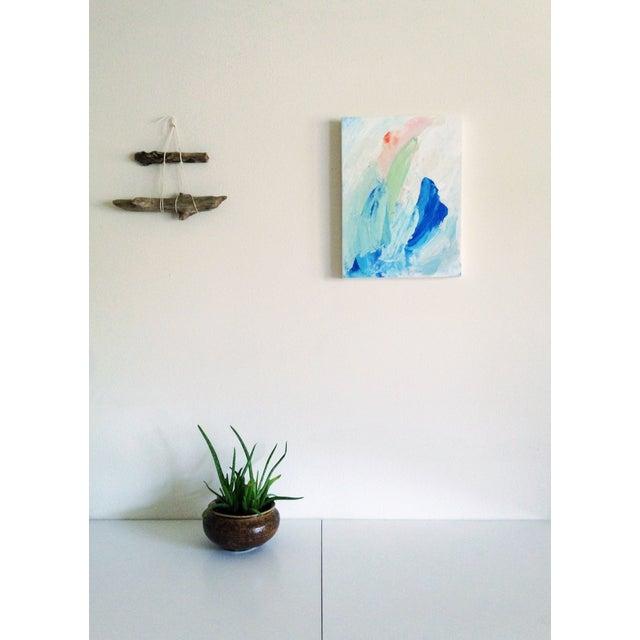 """Dani Schafer """"Quiet II"""" Original 2014 Painting - Image 8 of 8"""