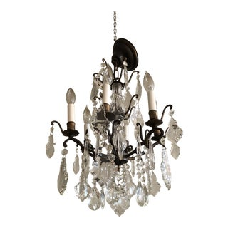 Vintage Petite Marie Therese Crystal Chandelier For Sale
