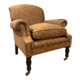 Image of George Smith Dahl Chair For Sale