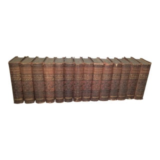Antique Dickens Classic Books, Belford Clarke & Co - Set of 14 For Sale