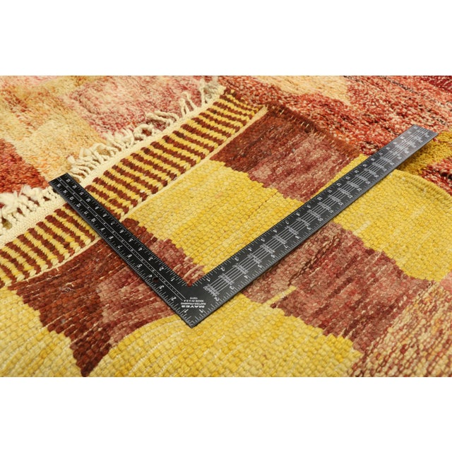 Early 21st Century Moroccan Contemporary Rug - 08'11 X 11'10 For Sale - Image 5 of 10