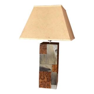 Paul Evans Cityscape Style Lamp For Sale