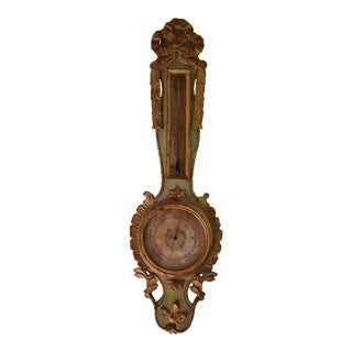19th Century Antique French Barometer For Sale