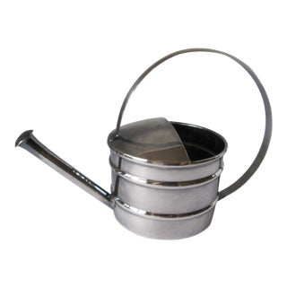 Vintage Midcentury Silverplate Vermouth Dripper/Sprinkler Watering Can For Sale