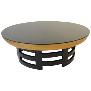 Kittinger Lotus Cocktail Table by Muller and Barrringer For Sale