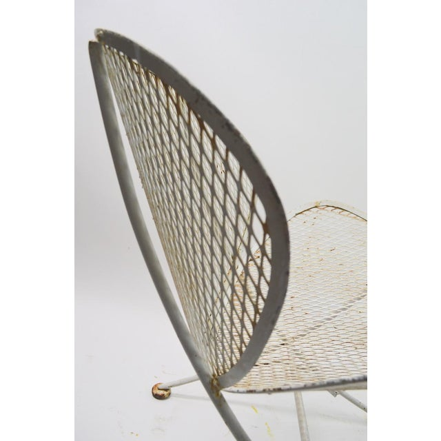 Metal Pair of Tempestini for Salterini Clamshell Lounge Chairs For Sale - Image 7 of 9