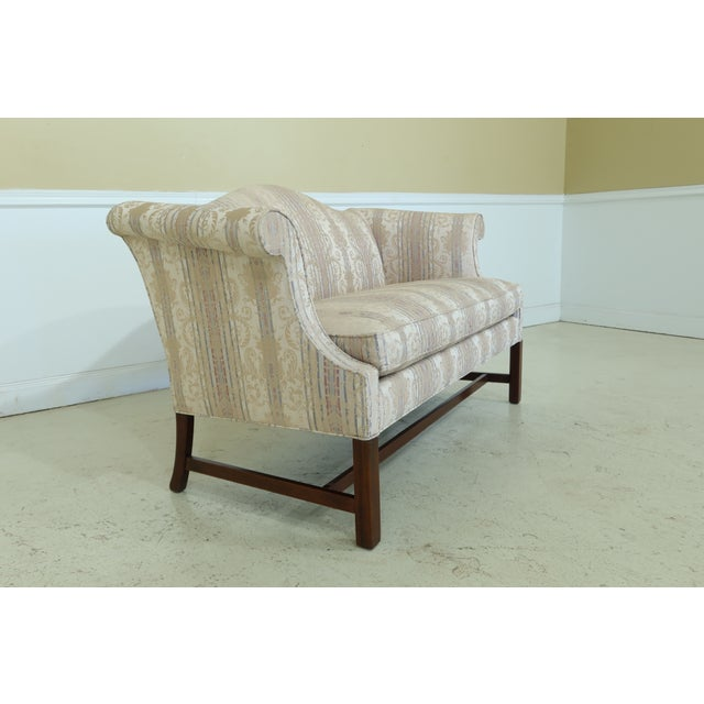 Southwood Chippendale Mahogany Loveseat For Sale - Image 4 of 13