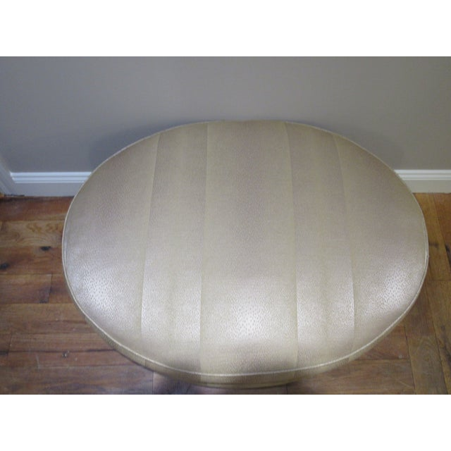 Contemporary Ottoman by Donghia For Sale - Image 3 of 9