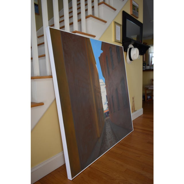 """Memory of Seville"" Large Contemporary Painting by Stephen Remick For Sale - Image 9 of 11"