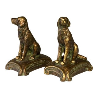 Vintage Sporting Dog Bookends - a Pair For Sale