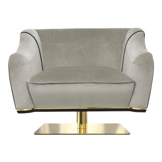 Covet Paris Saboteur Swivel Single Sofa For Sale