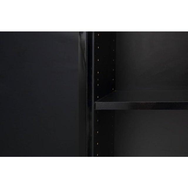 High-End Hollywood Regency Four-Door Cabinet For Sale - Image 10 of 11