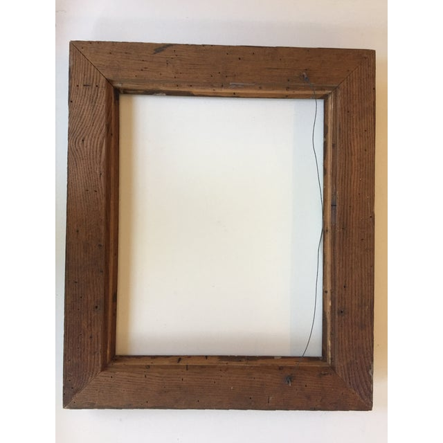 Mid-Century Painted Wormwood Frame - Image 7 of 7