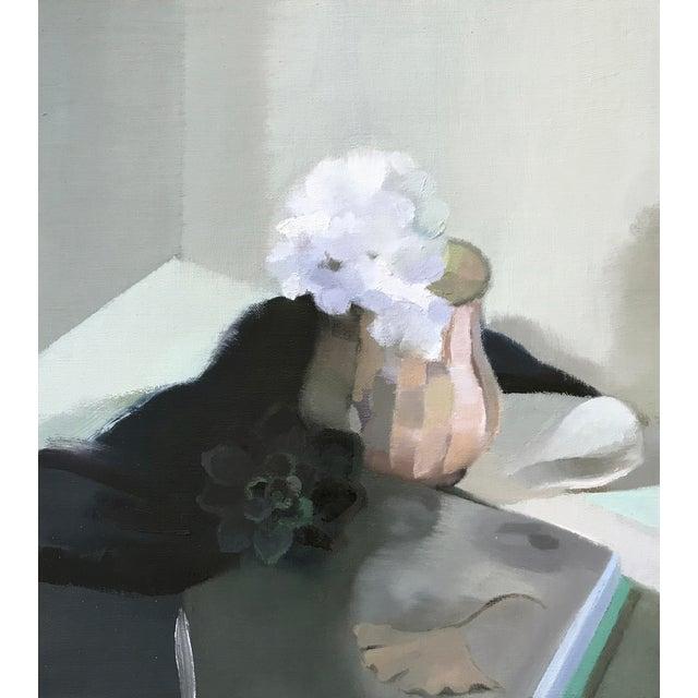 Mystérieux, oil on linen by Stephanie London