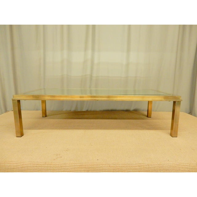 Mid-Century Modern Elegantly Mirrored Mid Century Modern Coffee Table For Sale - Image 3 of 6