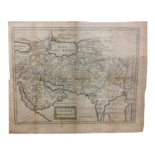 18th Century Map - Oriens Persia, India For Sale