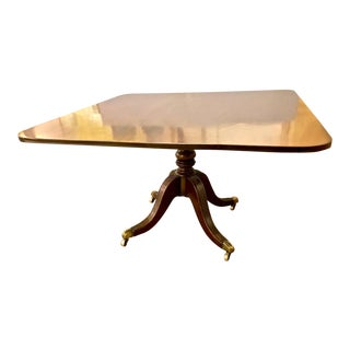 English Regency Tilt Top Breakfast or Super Table For Sale
