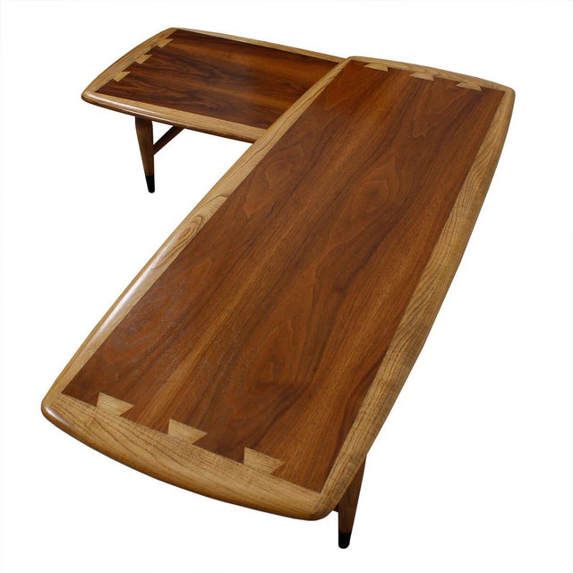 Lane Acclaim Expanding Boomerang Coffee Table Chairish