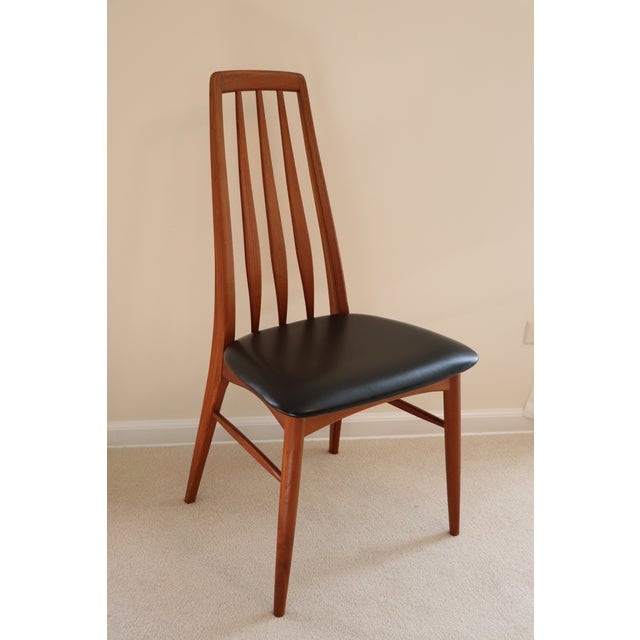 "Mid-Century Modern Danish Modern Niels Koefoed ""Eva"" Dining Chairs - Set of 6 For Sale - Image 3 of 11"
