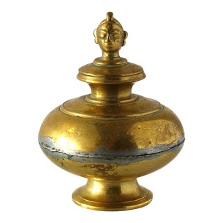 Asian Style Brass Ornament For Sale