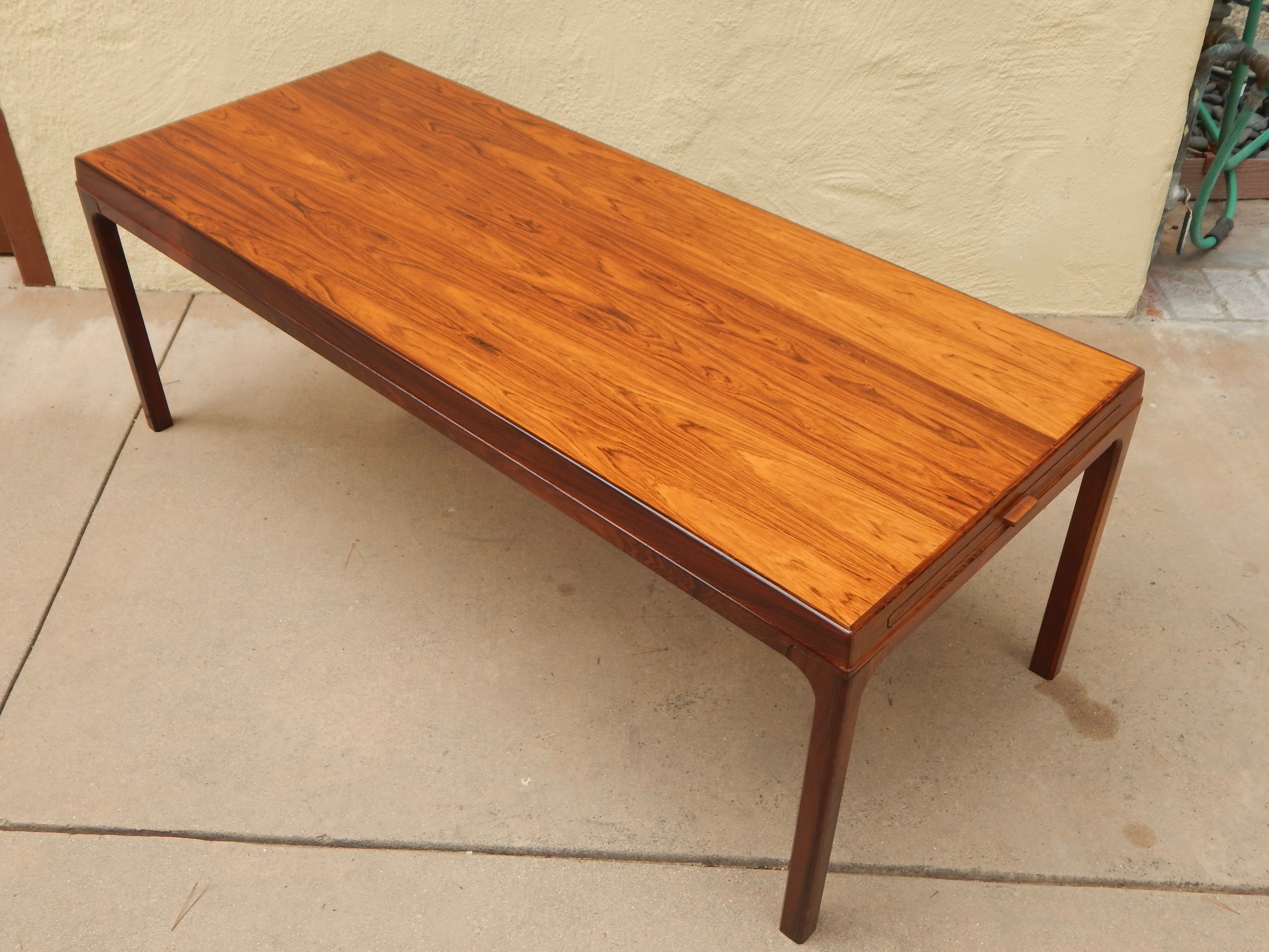 Beautiful Incredible Danish Extendable Rosewood Coffee Table 1960 S Decaso