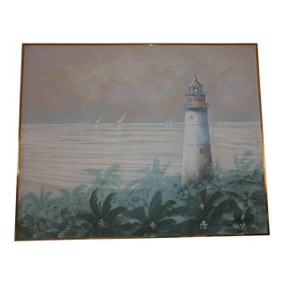 1950s American Oil Painting by Lee Reynolds For Sale