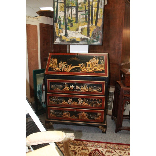 20th Century Asian Secretary Desk For Sale In New York - Image 6 of 7